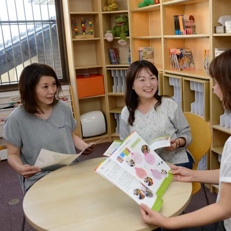 広い図書館